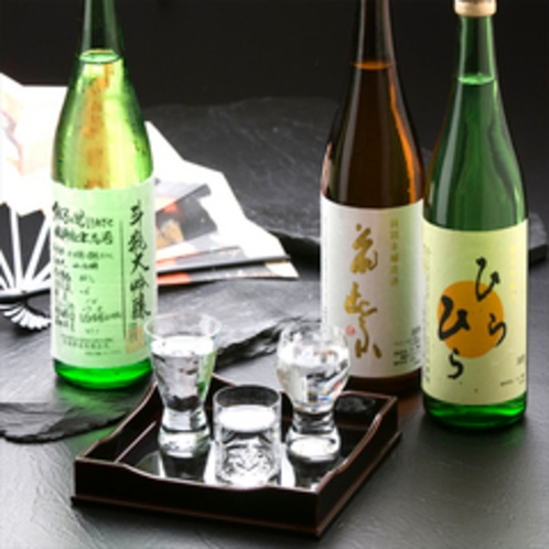 山中温泉地酒セット