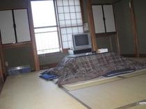 和室10畳のオーシャンビュー