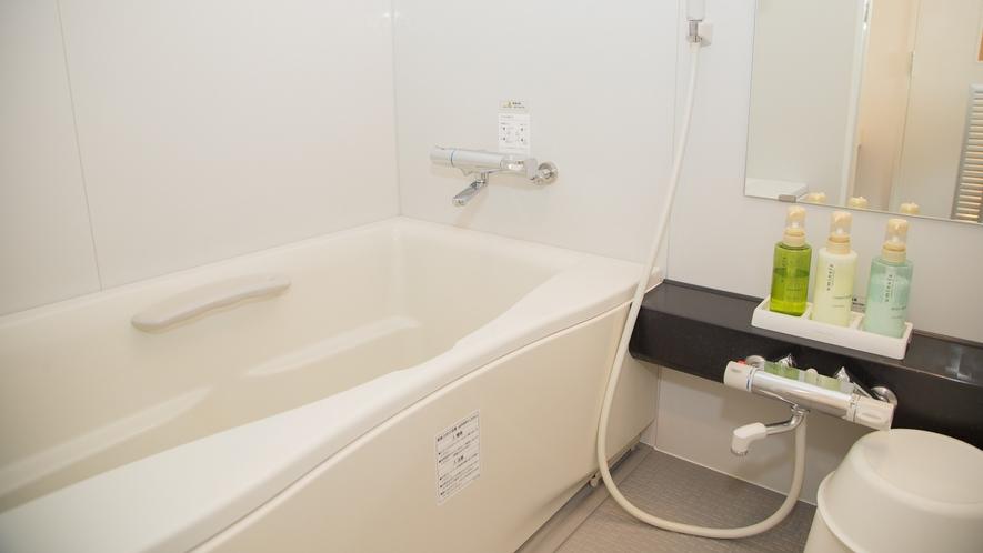 【デラックスツインルーム】バスルーム