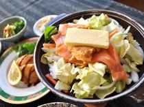 【夕食一例/ビジネスプラン】鮭のチャンチャン焼(一例)