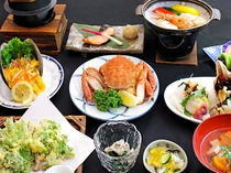 【夕食一例/グレードアッププラン】見た目にもこだわったお料理をご用意しております。