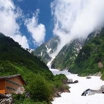 大雪渓画像
