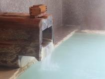 大浴場湯口