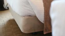全室世界のベッド【シモンズ】採用。快眠サポート