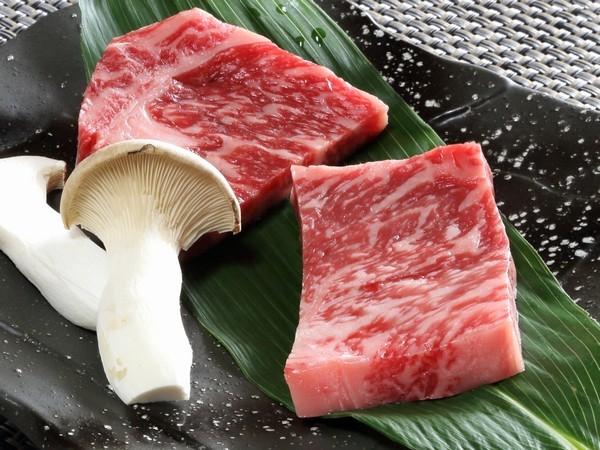 アルプス牛ステーキ 3