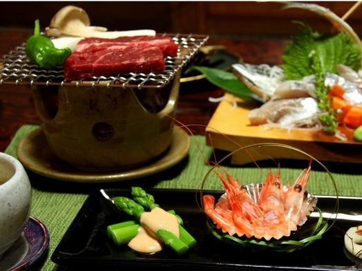 【当館人気】信州アルプス牛・ステーキ付プラン【温泉】【部屋食】