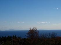 伊豆七島まで見えるかな