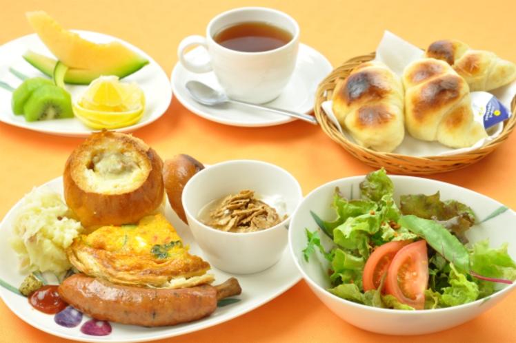朝食メニュー♪