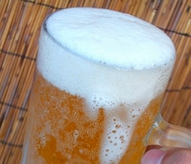 生ビールあります!