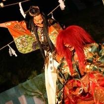 薪能(毎年10月に開催)