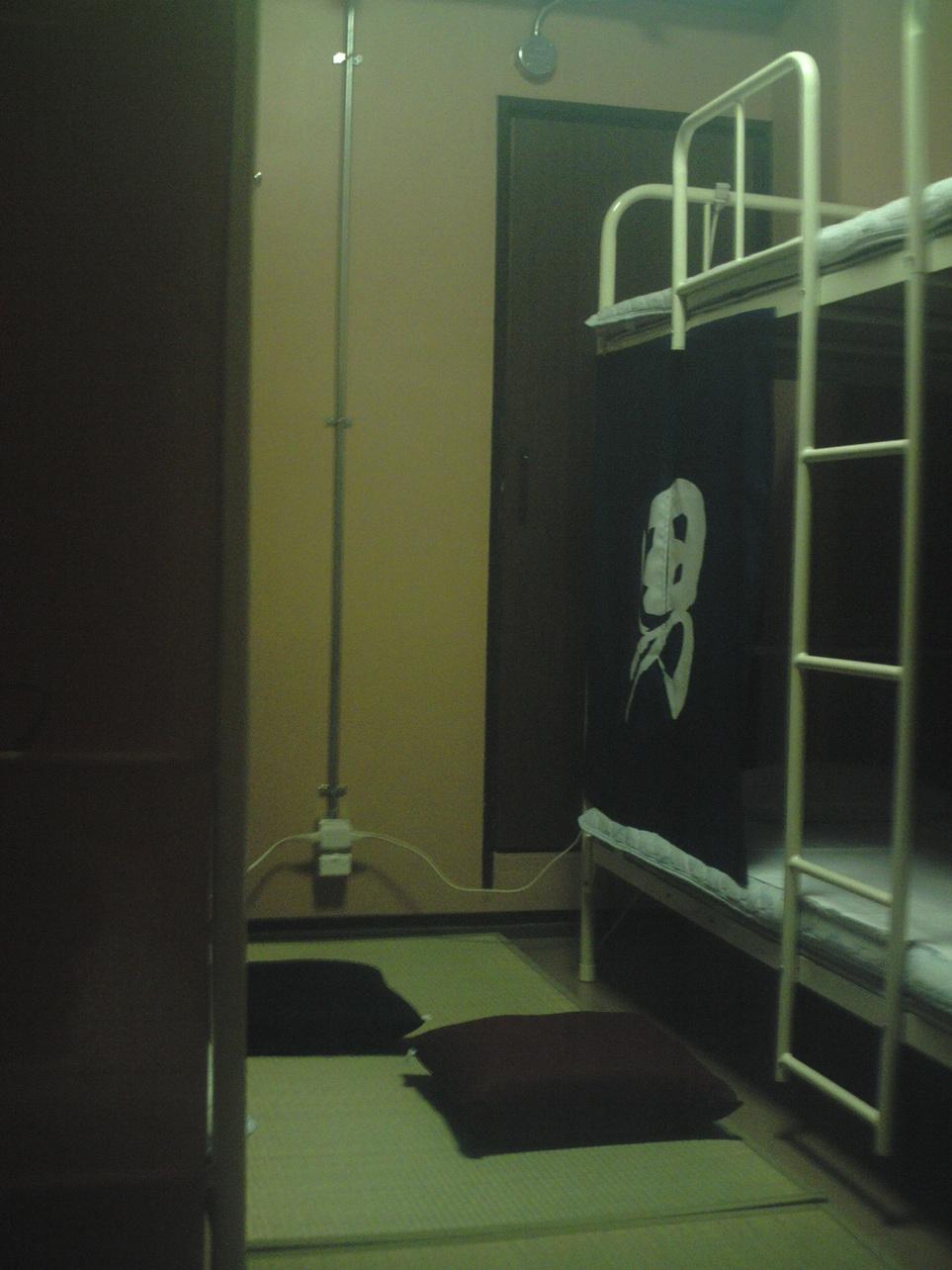 グループ・ファミリー3~4人部屋の室内