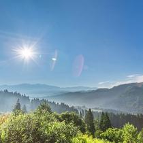 【西山展望台】車で10分。天気が良ければ白山も見れるちゃいます!