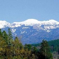 日本三名山の一つ雄大な【白山】の麓にございます