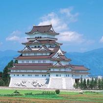 【勝山城】までは八鵬から車で約30分。平泉寺もすぐ近くにあります!