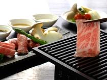 松阪牛と松阪豚 焼き