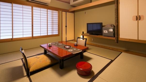 二人の距離が縮まる純和風8畳タイプ客室/朴・白百合・ほおずき