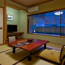 二人の距離が縮まる純和風8畳タイプ客室