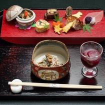 季節を映す、里山懐石の前菜