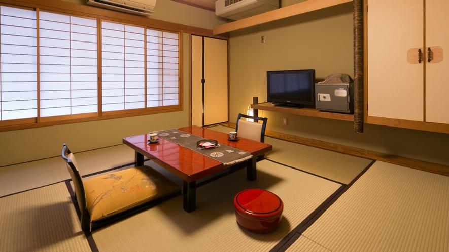 ・純和風8畳タイプ温泉街側客室