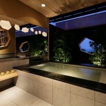 【離れ 季音庵 波乃音(なみのね) 客室露天】景色と、温泉を独り占めしてください
