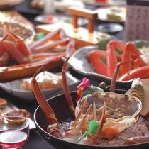 【冬】コースイメージ 間人蟹フルコースプラン