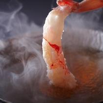 【冬】料理一例 蟹のしゃぶしゃぶ