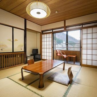 和室10畳客室(山側のお部屋/洗浄機付トイレ付)【禁煙】