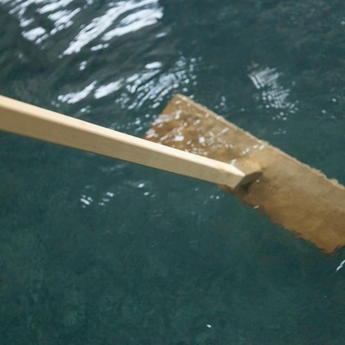 大理石風呂(湯もみ)
