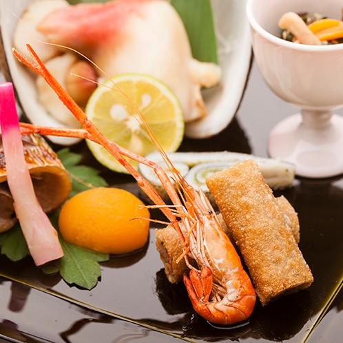豪華懐石 一例 前菜