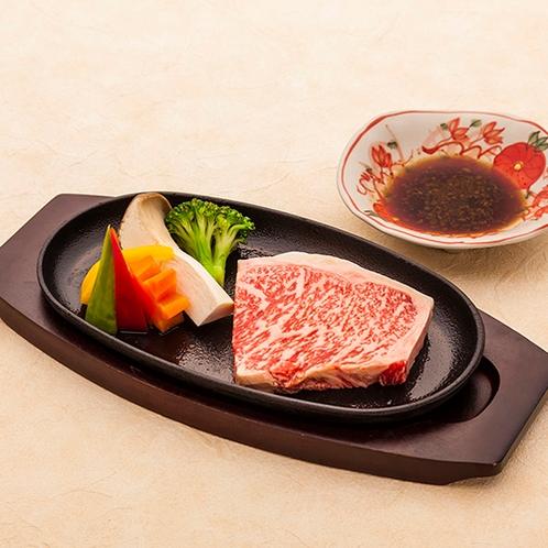 雫石牛ステーキ 雫石はお肉がとても有名です。