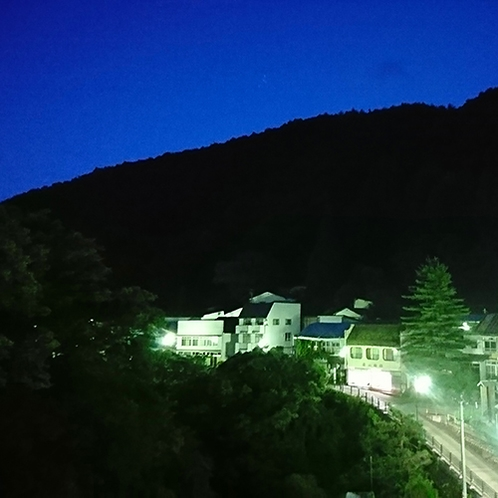 客室からの眺め 夜