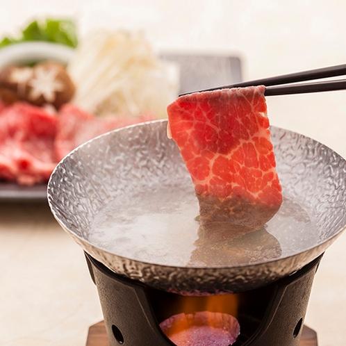 雫石牛しゃぶしゃぶ 雫石はお肉がとても有名です。