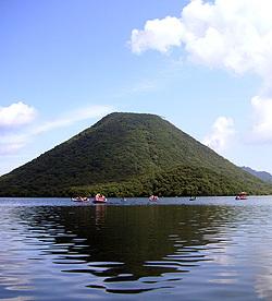 上毛三山の一つ、榛名山