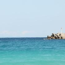 【浦田海水浴場】宿から北へ車で約15分!美しい景色が広がります☆