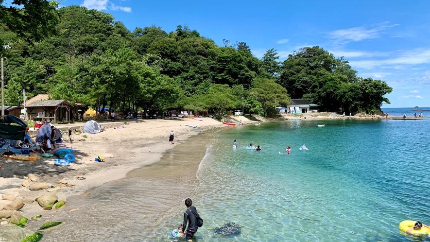 三田浜海水浴場2