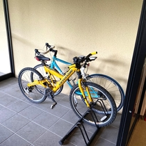 サイクリストさん大歓迎!【駐輪スペース】