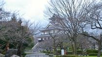 *【長浜城】秀吉が最初に築いた居城。内部は資料館になっており、見学可能です。