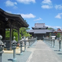 <周辺観光の案内>酒見寺