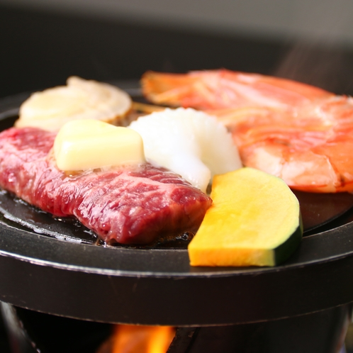 【特選コース】海山の美味しいものをバター焼き!