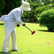 《グランドゴルフ》入れ~!