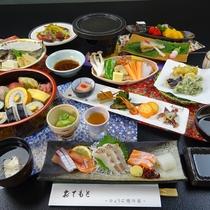 【旬彩プレミアムコース(一例)】旬の食材でおもてなしいたします
