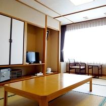 ◎【和室一例】畳のお部屋でごゆっくりお寛ぎください。