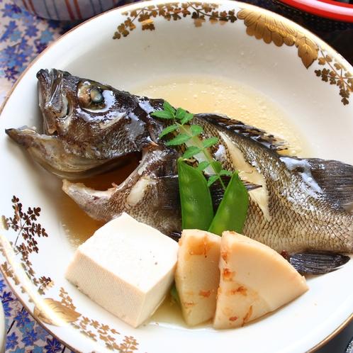 【特選コース】旬魚の煮付け