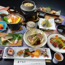 【旬彩スペシャルコース(一例)】旬の食材でおもてなしいたします