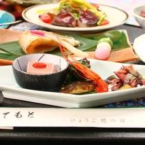 【佳撰コース】和と洋で旬菜をご提供^^