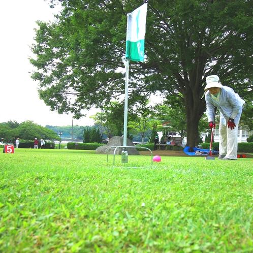 《グランドゴルフ隣接》 入れ~!!