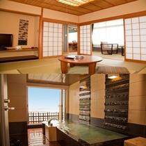 ■海の座・露天風呂付スイート和洋室