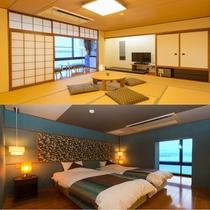 ■海の座・デラックスタイプ 和洋室
