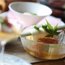 お料理(半田素麺)