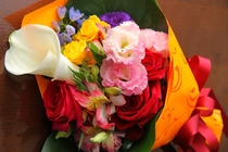 アニバーサリー用の花束